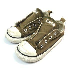 Converse Toddler Allstar Olive Sneaker Sz 8